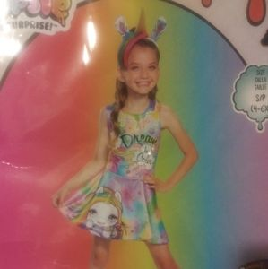 Rainbow Brite star dream in color dress